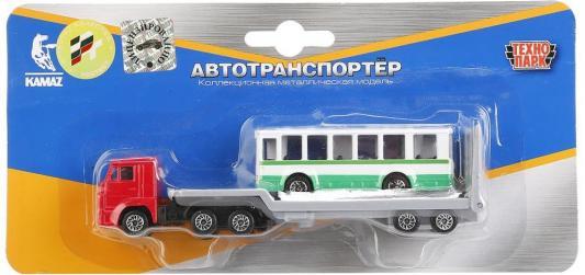 Автовоз Технопарк КАМАЗ 1:72 разноцветный SB-15-04-BLС