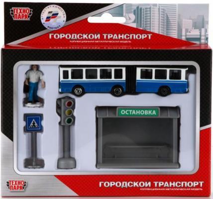Набор Технопарк ТРОЛЛЕЙБУС синий SB-16-18-A цена