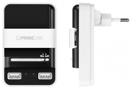 Сетевое зарядное устройство Deppa 2313 2 х USB 1A белый сетевое зарядное устройство ainy ea 031a с 2 мя usb 1a 2 1a черное