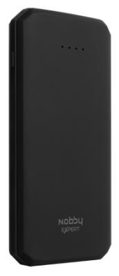 Внешний аккумулятор Power Bank 10000 мАч Nobby NBE-PB-10-03 черный цена и фото