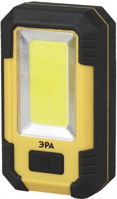 Фонарь рабочий Эра RA-801 желтый чёрный аккумуляторный фонарь эра fa6w желтый 6вт [б0008963]