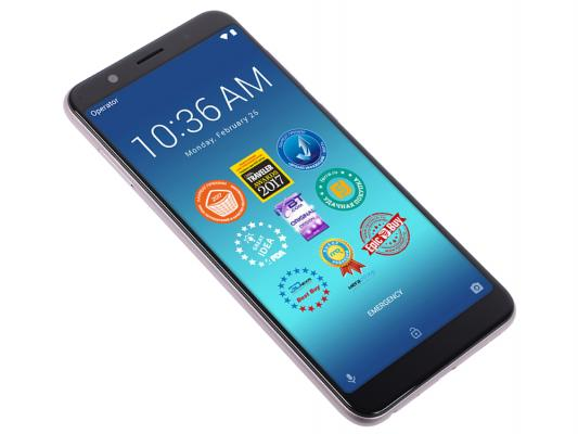 Смартфон ASUS ZenFone Max Pro M1 ZB602KL 32 Гб серебристый (90AX00T2-M00060) смартфон asus zenfone max pro zb602kl 64gb цвет синий