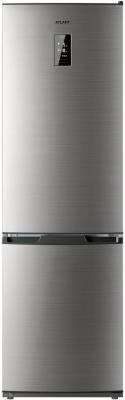 Холодильник ATLANT ХМ 4424 049 ND нержавеющая сталь двухкамерный холодильник atlant хм 4521 060 nd
