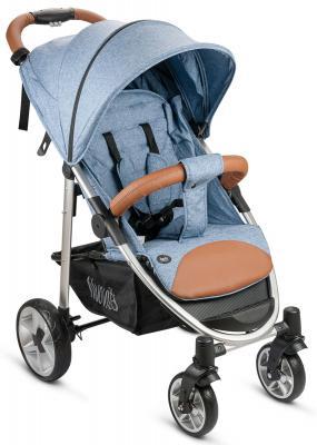 Фото - Прогулочная коляска Nuovita Corso (denim/argento) коляска прогулочная everflo safari grey e 230 luxe