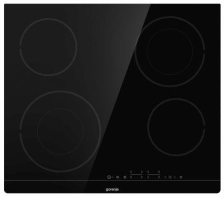 Варочная панель электрическая Gorenje ECT644BSC черный варочная панель электрическая gorenje ect644sy2b