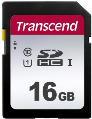 Карта памяти SDHC 16Gb Transcend S300 Class10 UHS-1, U1 [TS16GSDC300S] sdhc transcend 8gb class10 ts8gsdhc10