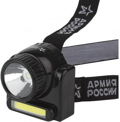 Фонарь налобный Эра GA-501 Гранит чёрный фонарь автомобильный эра aa 501 б0030180 синий led 0 5 вт