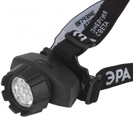 Фонарь налобный Эра GB-602 чёрный налобный фонарь эра практик gb 701 б0027819