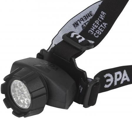 Фонарь налобный Эра GB-603 чёрный налобный фонарь эра практик gb 701 б0027819