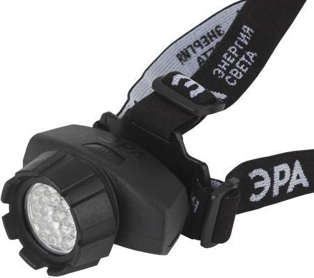 Фонарь налобный Эра GB-605 чёрный налобный фонарь эра практик gb 701 б0027819