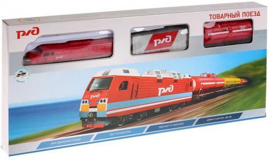 Железная дорога ИГРАЕМ ВМЕСТЕ Товарный поезд с 3-х лет B806136-R конструктор товарный поезд