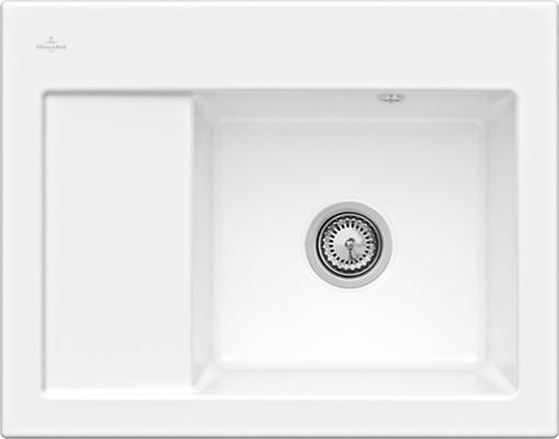 Мойка Villeroy & Boch Subway 45 Compact керамика белый