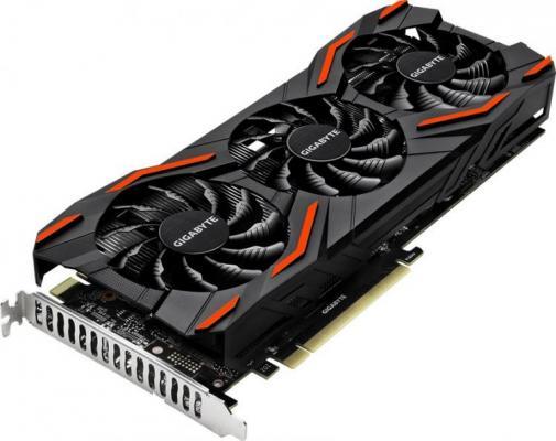 Фото - Видеокарта GigaByte nVidia GeForce P104-100 nVidia GeForce P104-100 PCI-E 4096Mb 256 Bit Bulk (GV-NP104D5X-4G) nvidia geforce gt610 1024mb ddr pci express x16 graphic card black