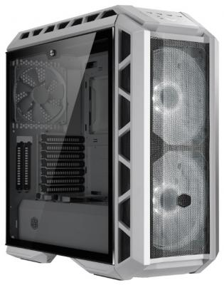 Cooler Master MasterCase H500P, USB3.0x2, USB2.0x2, 2x200RGBFan, 1x140Fan, White Ver, Full Tower, w/o PSU cooler master mastercase mc500m usb3 0x3 usb3 1 type c x1 3x140fan black fullatx w o psu