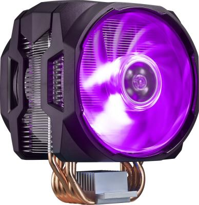 Cooler Master CPU Cooler MasterAir MA620P, 600-2400 RPM, 200W, RGB LED fan, RGB lighting controller, Full Socket Support alseye pc fan controller 6 channels with dual magnetic rgb led strips case light fan speed and rgb controller