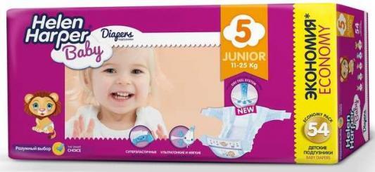 Купить Подгузники Helen Harper Baby размер 5 Junior (11-25 кг) 54 шт., влагопоглощающий, Подгузники и трусики подгузники