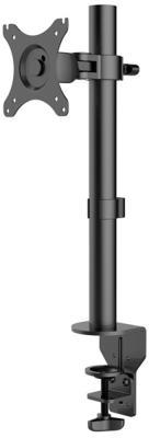 "цена на Кронштейн для монитора KRON D101E 10-32"" макс. 100*100, струбцина, наклон -85?+45? поворот 360?, вылет от основания 0-113мм, макс.перемещение по вертикали 200-380мм, нагрузка 10кг"