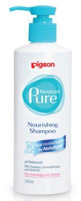 Шампунь PIGEON Newborn Pure 200 мл pigeon гель pigeon для купания newborn pure purifying body wash c 0 мес 200 мл