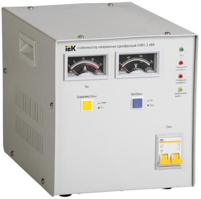 Iek IVS10-1-03000 Стабилизатор напряжения СНИ1-3 кВА однофазный ИЭК стабилизатор напряжения iek снр1 0 2 ква