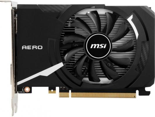 Видеокарта MSI GeForce GT 1030 GeForce GT 1030 AERO ITX 2GD4 OC PCI-E 2048Mb DDR4 64 Bit Retail (GT 1030 AERO ITX 2GD4 OC)