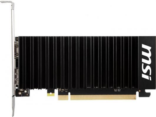Видеокарта MSI GeForce GT 1030 GeForce GT 1030 LP OC PCI-E 2048Mb DDR4 64 Bit Retail (GT 1030 2GHD4 LP OC) цена и фото