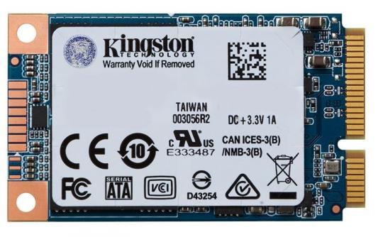 Kingston SSD 240GB SUV500MS/240G {mSATA} kingston ssd 240gb suv500ms 240g msata