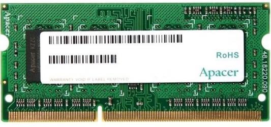 Оперативная память 4Gb (1x4Gb) PC4-19200 2400MHz DDR4 SO-DIMM CL15 Apacer ES.04G2T.LFH