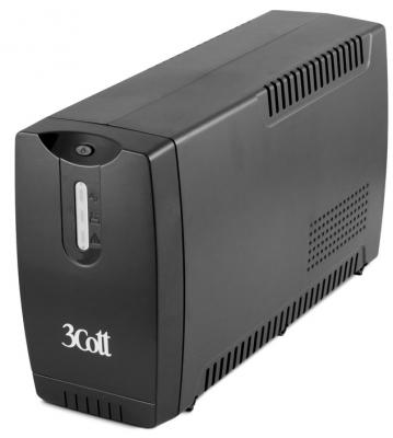 3Cott ИБП 3Cott-850-CNL Connect Line 850VA/510W USB,AVR,RJ11,RJ45 (3 Euro) {0509782} crown micro cmu 850хiec usb 850va 510w ибп