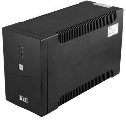 3Cott ИБП 3Cott-2200-CNL Connect Line 2200VA/1320W USB,AVR,RJ11,RJ45 (4 Euro+2 IEC) {0509788} ибп powercom imp 2000ap imperial 2000va 1200w usb avr rj11 rj45 4 2 iec