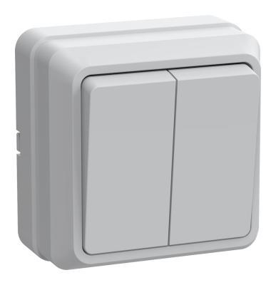 Выключатель IEK EVO20-K01-10-DC 10 A белый