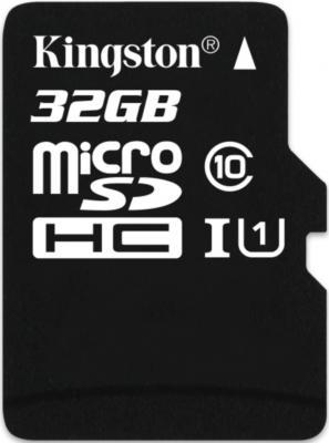 Карта памяти MicroSDHC 32GB Kingston Class 10 U1 UHS-I MLC (SDCIT/32GBSP) карта памяти 32gb kingston high capacity class 10 secure digital sd10vg2 32gb