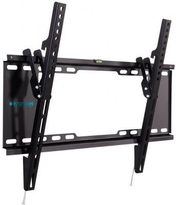 Кронштейн Kromax IDEAL-102 black, для LED/LCD TV 32-90, max 40 кг, настенный, 1 ст свободы, наклон -12°,от стены 30 мм, max VESA 600x400 мм. free shipping 40pcs lot lcd tv plasma tube rjp63k2 new original