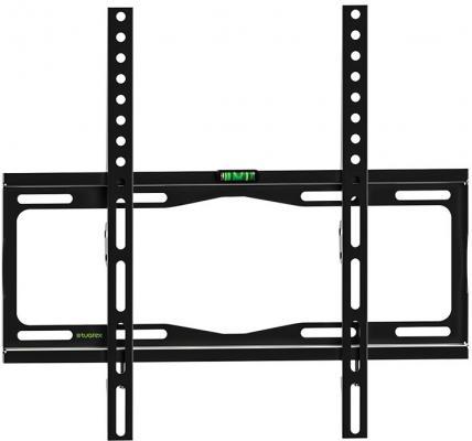 Кронштейн Tuarex OLIMP-113 black, настенный для TV 26-65, макс нагр 35 кг, от стены 25мм, VESA 400x400