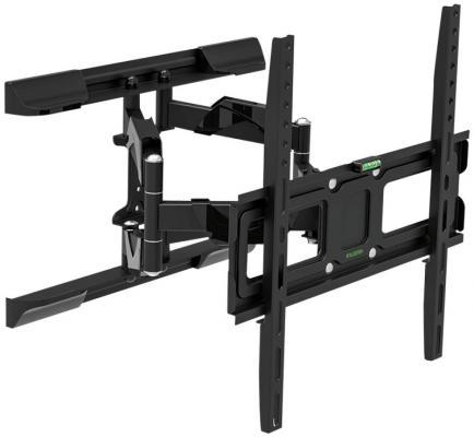 "все цены на Кронштейн Tuarex OLIMP-407 black, настенный для TV 26""-55"", поворот 120, наклон +10-12, от стены 72-397мм, макс 35кг, VESA 400x400 онлайн"