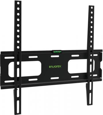 Кронштейн Tuarex OLIMP-203 black, настенный для TV 26-65, макс 40кг, от стены 20мм, VESA 400x400 dobe tyx 530 multifunction universal tv mount stand holder for ps4 xbox one wii u more black