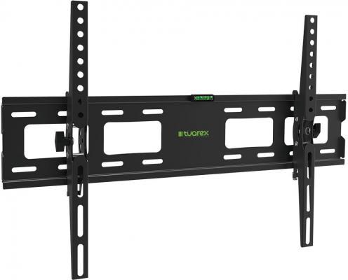 "лучшая цена Кронштейн Tuarex OLIMP-202 black, настенный для TV 32""-90""? от стены 48мм, наклон ±15, нагрузка макс 45 кг, VESA 600x400"