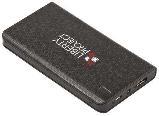 Фото - Внешний аккумулятор Power Bank 6000 мАч LP 0L-00029995 черный внешний аккумулятор для