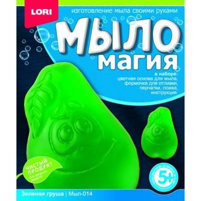 Купить МЫЛОМАГИЯ ЗЕЛЕНАЯ ГРУША в кор.16шт, Lori, Изготовление мыла и свечей