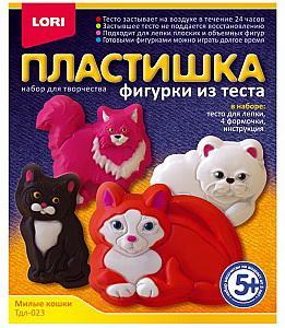 "Набор для творчества Lori ""Пластишка. Милые кошки"" orange elephant набор для творчества виражи кошки 24121"