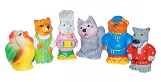 Купить Набор игрушек для ванны Пфк игрушки Заюшкина избушка, Игрушки для купания