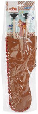 Купить Набор стрел для лука Три богатыря КОЛЧАН КОРИЧНЕВЫЙ И 2 СТРЕЛЫ коричневый ТБ-013-1, Пластмастер, 1.5x13.5x32.5 см, для мальчика, Игрушечное оружие
