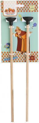 Набор стрел для лука Три богатыря КОМПЛЕКТ СТРЕЛ ДЛЯ ЛУКА ТБ-002-2 набор стрел для лука три богатыря колчан коричневый и 2 стрелы коричневый тб 013 1