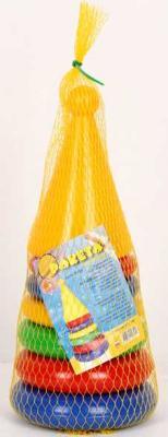 Купить ПИРАМИДКА РАКЕТА в кор.10шт, Пластмасса-Детство (СВСД), пластик, Пирамидки для малышей