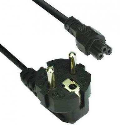 Кабель питания для ноутбуков 3-pin, с заземлением, 220V (EURO) 1.8м,медь, Telecom (TE022-CU0.5-1.8M) кабель питания для ноутбуков 3 0м vcom telecom ce022 cu0 5 3m