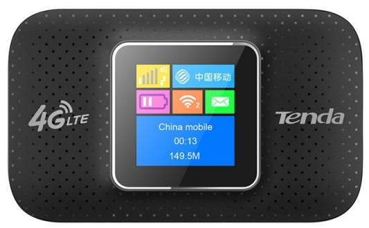 Маршрутизатор Tenda 4G185 4G FDD LTE 150Мбит/с портативный роутер, оснащен 2100mAh перезаряжаемой батареей, поддерживает до 10 устройств, до 6 часов работы 4g portable hotspot wifi router usb modem 100mbps lte fdd with sim card