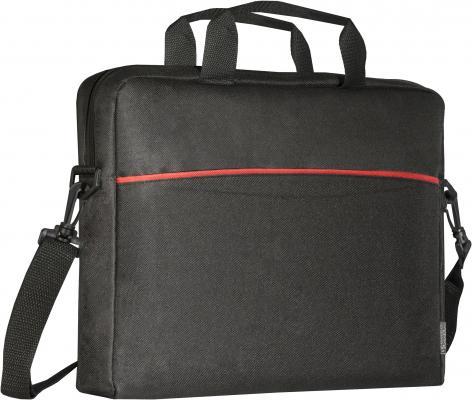 Сумка для ноутбука 15.6 Defender Lite полиэстер черный 26083