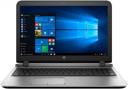 Ноутбук HP ProBook 450 G3 Core i3 6100U/8Gb/SSD256Gb/Intel HD Graphics 520/15.6/SVA/HD (1366x768)/Windows 10 Professional 64/black/WiFi/BT/Cam
