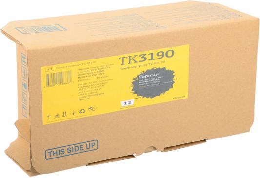 Картридж T2 TC-K3190 черный (black) 25000 стр. для Kyocera P3055dn/P3060dn картридж t2 tc k3190 черный