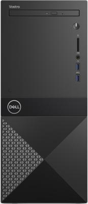 Dell Vostro 3670 MT Core i3-8100 (3,6GHz),4GB (1x4GB) DDR4,1TB (7200 rpm),NVidia GT 710 (2GB),Linux,MCR,1 year NBD системный блок dell optiplex 3050 sff i3 6100 3 7ghz 4gb 500gb hd620 dvd rw linux клавиатура мышь черный 3050 0405