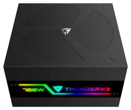 БП ATX 700 Вт ThunderX3 PLEXUS 700 (TEPG-PL70FEC.R1)